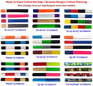 Try Our Cricket Bat Grips Designer Tool Or