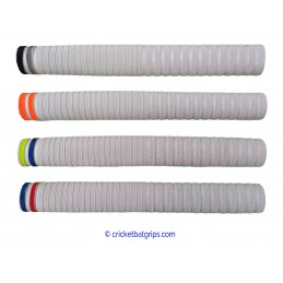 Dynamite cricket bat grip with single base colour with 2 bands