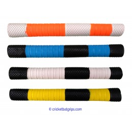 Penta design and texture cricket bat grip in 2 colours