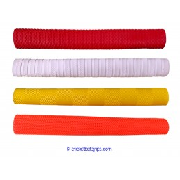 Single coloured cricket bat grip