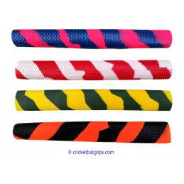 Splash spiral cricket bat grip in 2 colours