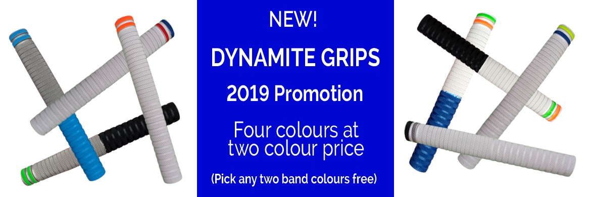 Cricket Bat Grips - Dynamite Grips