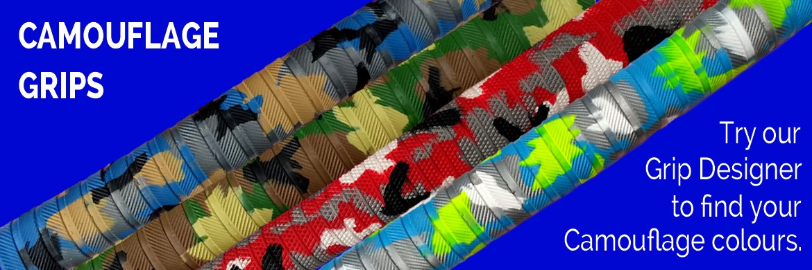 Cricket Bat Grips - Camouflage Grips